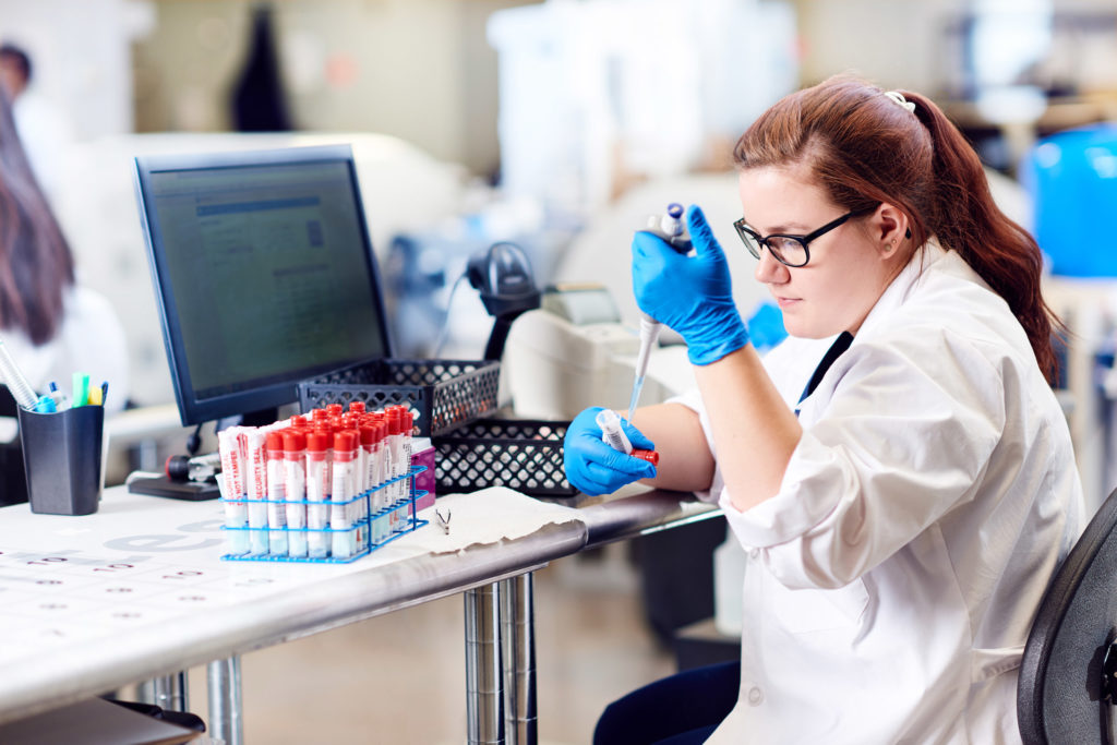 Averhealth's lab is continuing to drug test during COVID-19.